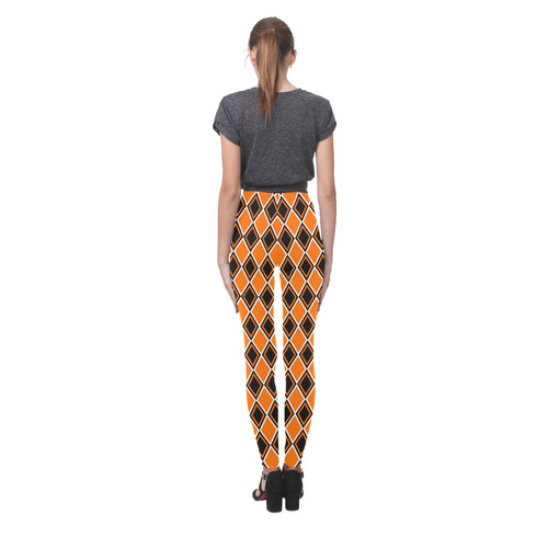 Halloween Diamond Harlequin Cassandra Women's Leggings (Model L01)