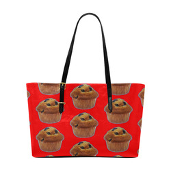 9f25d668f5 BLUEBERRY MUFFIN (TILED) Euramerican Tote Bag/Large (Model 1656)
