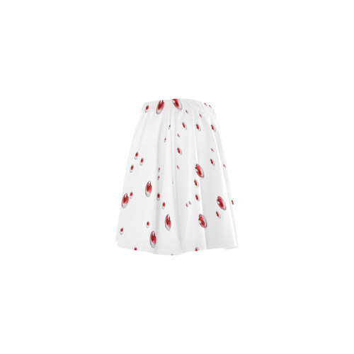 Valentine Heart Mini Skating Skirt (Model D36)