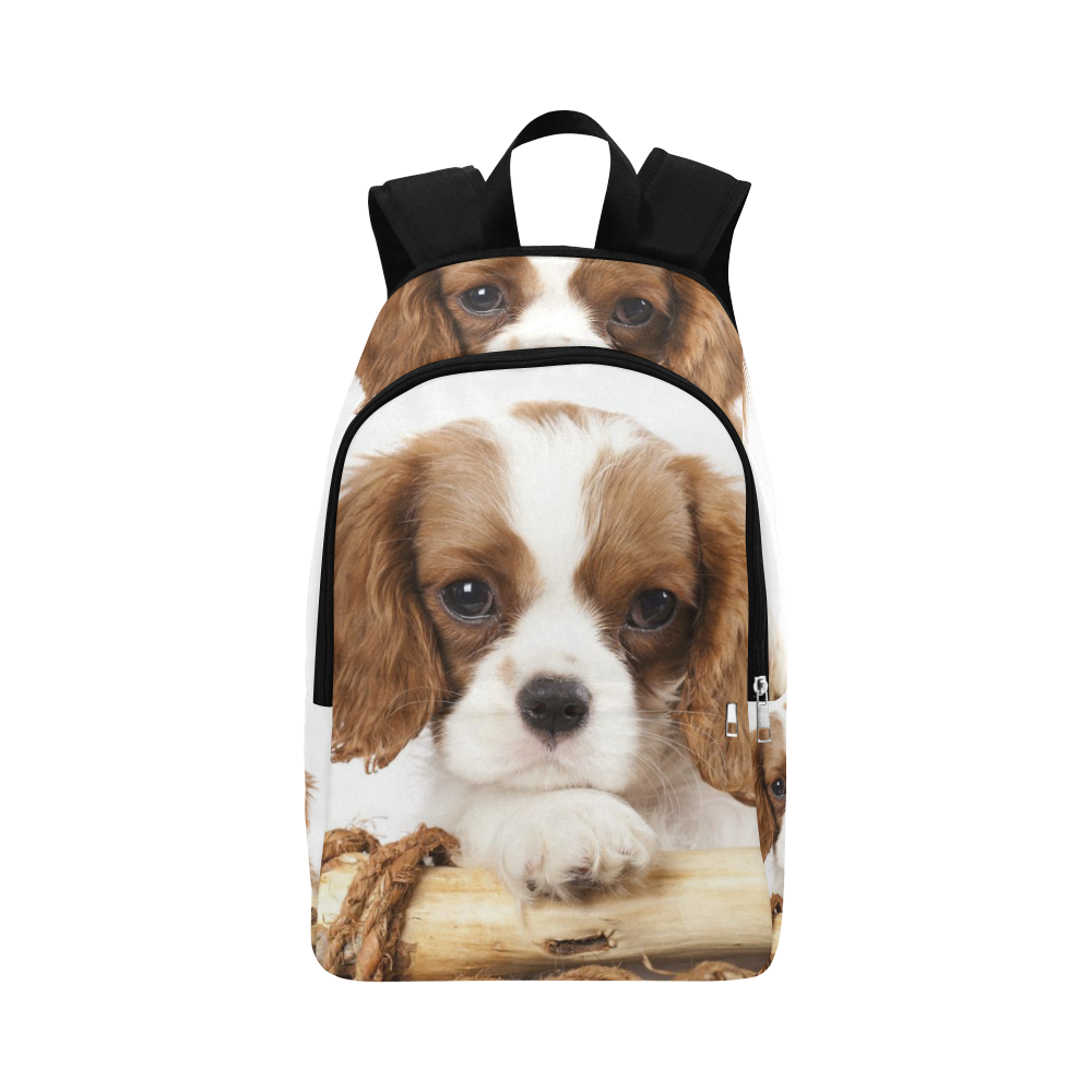 King Charles Cavalier Spaniel Fabric Backpack for Adult (Model 1659)   ID:  D1807740