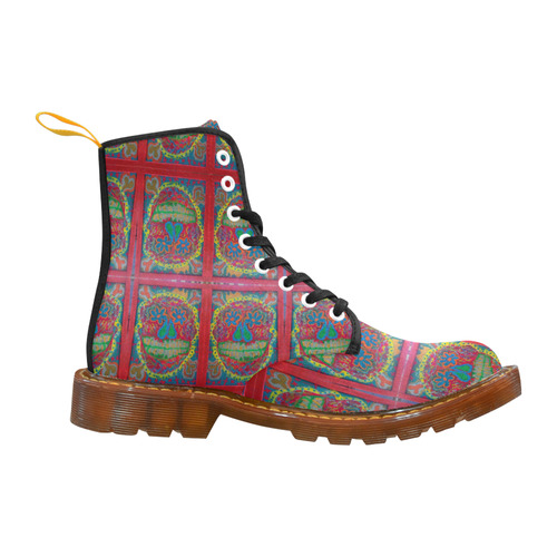 sugar skull 2 Martin Boots For Women Model 1203H