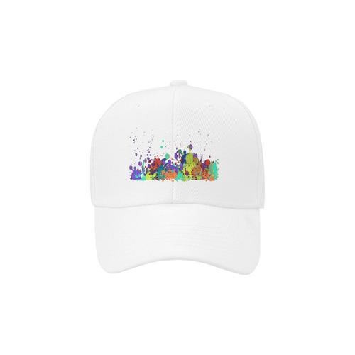 CRAZY multicolored SPLASHES / SPLATTER / SPRINKLE Dad Cap