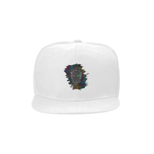 Día De Los Muertos Skull Ornaments Brush Unisex Snapback Hat