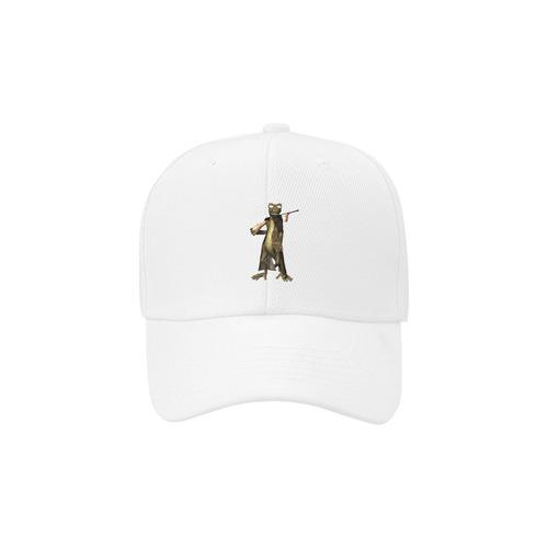 Funny gecko Dad Cap