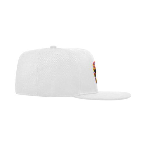 Sugar Candy Skull Unisex Snapback Hat