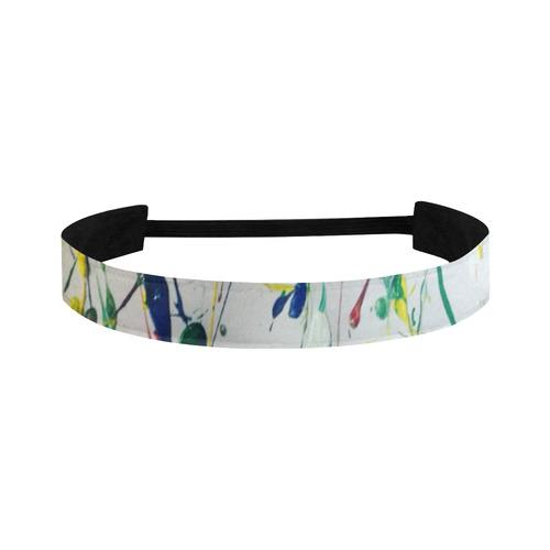 abstract brazil art Sports Headband