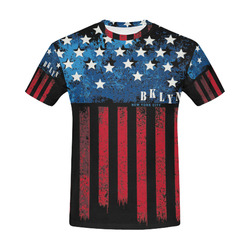 All Over Print T-Shirt for Men (USA Size) (Model T40)