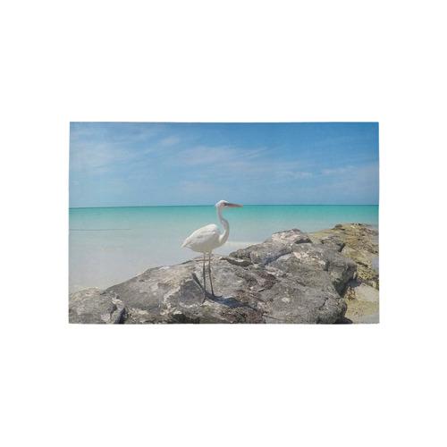 Heron By The Sea Area Rug 5'x3'3''