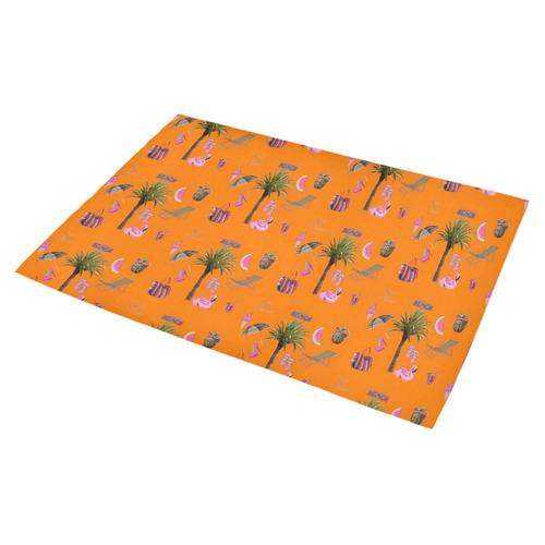 "Aloha - Summer Fun 2C Azalea Doormat 30"" x 18"" (Sponge Material)"
