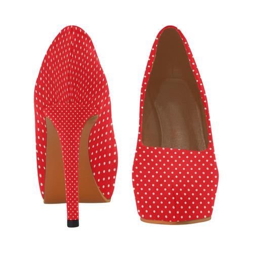 polkadots20160646 Women's High Heels (Model 044)