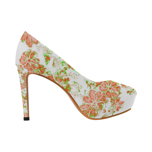 floral dreams 12 D by JamColors Women's High Heels (Model 044)
