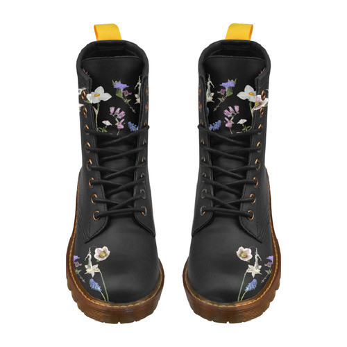 Wildflower Dream High Grade PU Leather Martin Boots For Men Model 402H