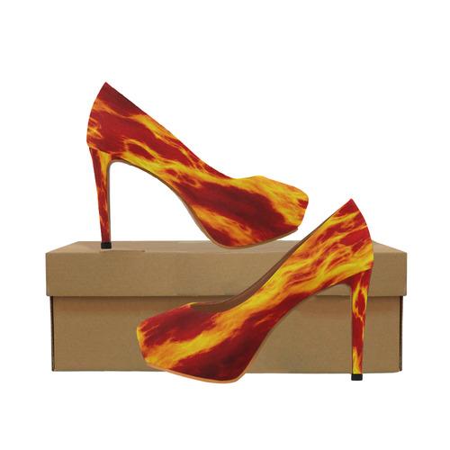 WAVEY FLAME 30 Women's High Heels (Model 044)