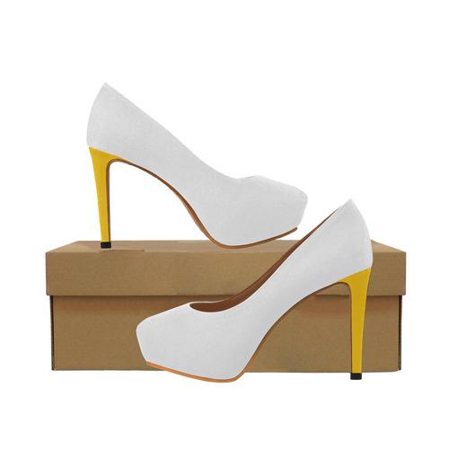Darling Dandelion Yellow Heels