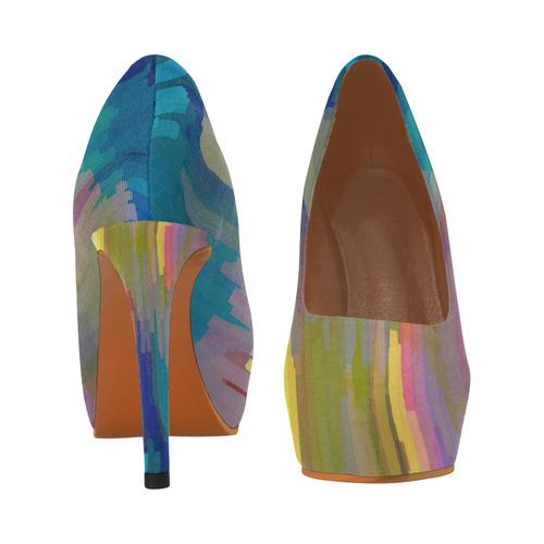 Paint 2 Women's High Heels (Model 044)
