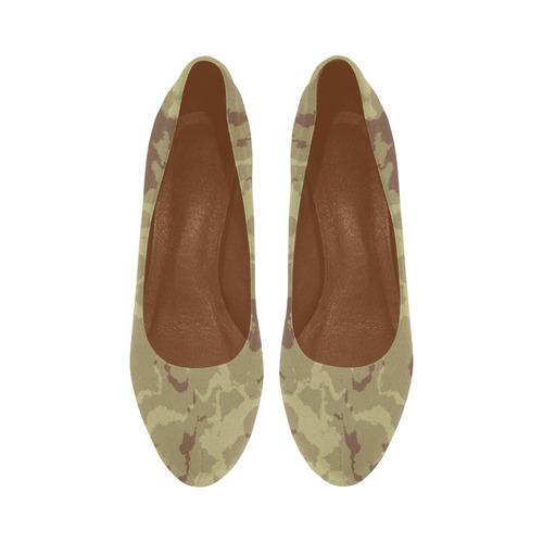 desert camouflage Women's High Heels (Model 044)