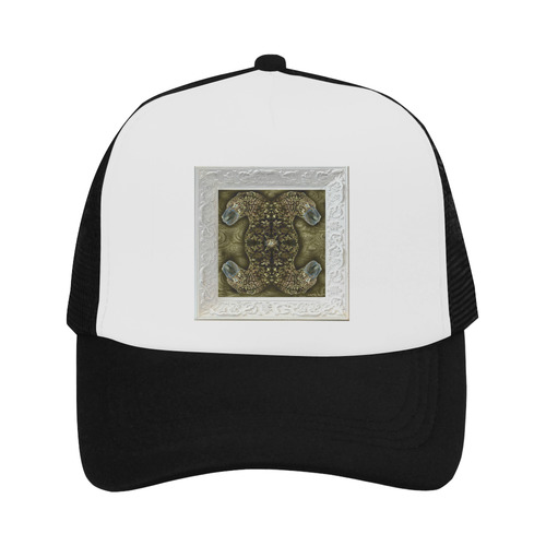 baby art golden panthers Trucker Hat