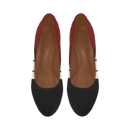 Shoji - red Women's High Heels (Model 044)