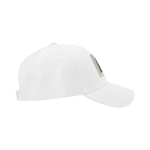baby art golden panthers Dad Cap