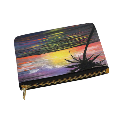Sunset Sea Carry-All Pouch 8''x 6''