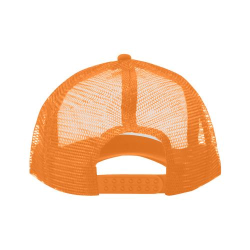 3 Splashes red petrol orange Trucker Hat