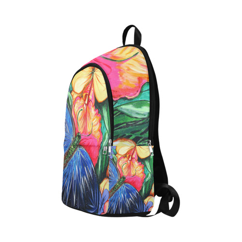 Butterfly Life Fabric Backpack for Adult (Model 1659)