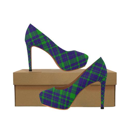 Purple And Green Heels