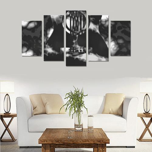 Acoustic Storm Canvas Print Sets A (No Frame)