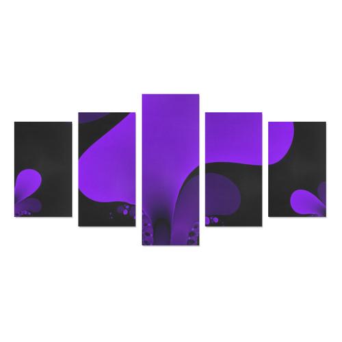 purple Canvas Print Sets C (No Frame)