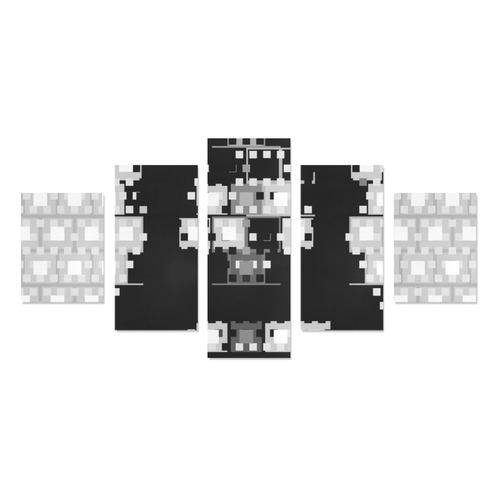 Geometric Sound Canvas Print Sets B (No Frame)