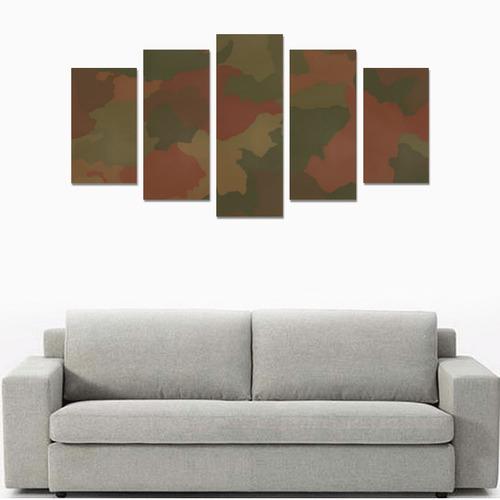 Camo 8 Canvas Print Sets A (No Frame)