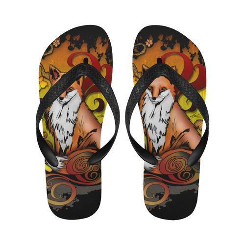 Outdoor Fox New Flip Flops for Men/Women (Model 040) (Both Customized)
