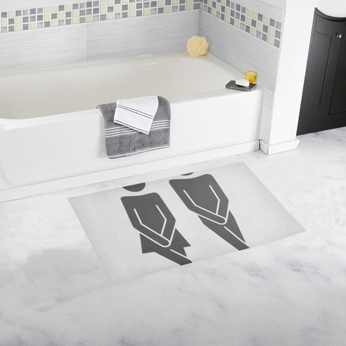 great haste-funny by JamColors Bath Rug 16''x 28''