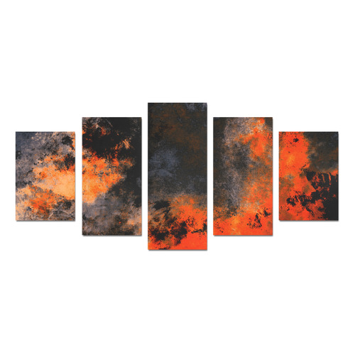 abstraction colors Canvas Print Sets D (No Frame)