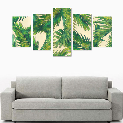 palms Canvas Print Sets C (No Frame)