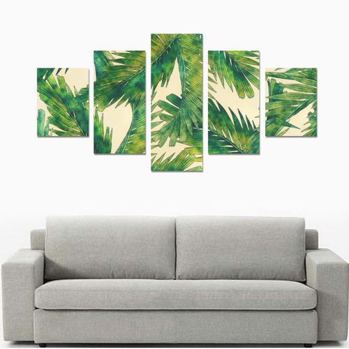 palms Canvas Print Sets B (No Frame)