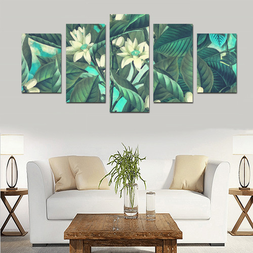 flowers Canvas Print Sets D (No Frame)