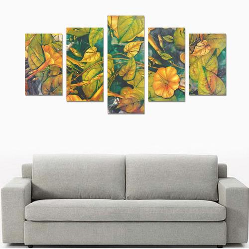 flowers Canvas Print Sets C (No Frame)