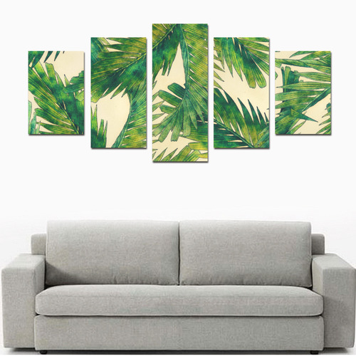 palms Canvas Print Sets D (No Frame)