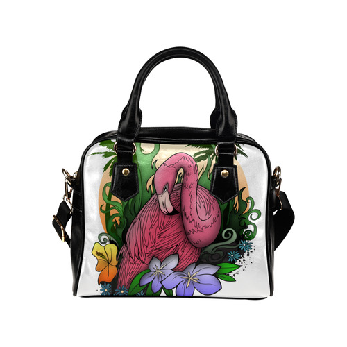 Flamingo Shoulder Handbag (Model 1634)