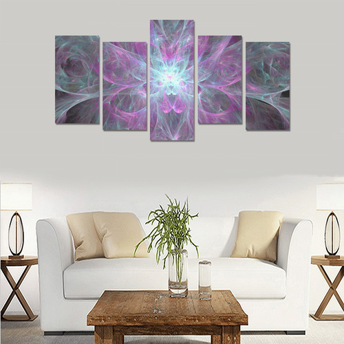 Cosmic Lilly Canvas Print Sets E (No Frame)