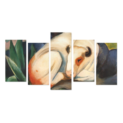 The Bull by Franz Marc Canvas Print Sets E (No Frame)