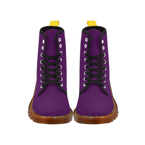 Purple Passion Martin Boots For Women Model 1203H