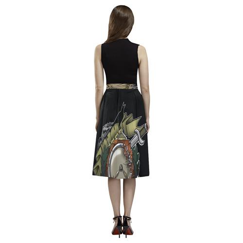 End Of Time Aoede Crepe Skirt (Model D16)