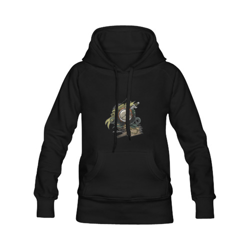 End Of Time Women's Classic Hoodies (Model H07)