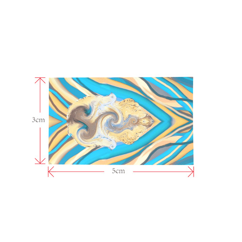 energy 2-hamsa 5 draft Private Brand Tag on Bags Inner (Zipper) (5cm X 3cm)