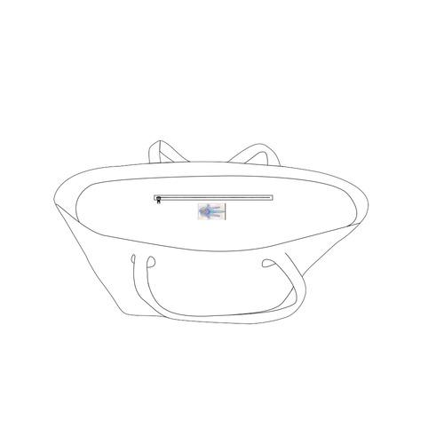 hamsa voile 7 Private Brand Tag on Bags Inner (Zipper) (5cm X 3cm)