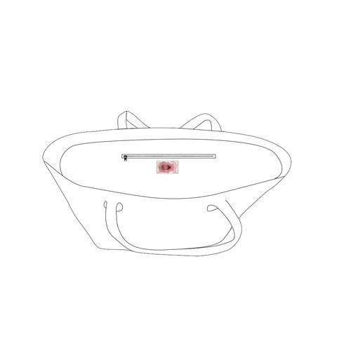 hamsa 3.s Private Brand Tag on Bags Inner (Zipper) (5cm X 3cm)