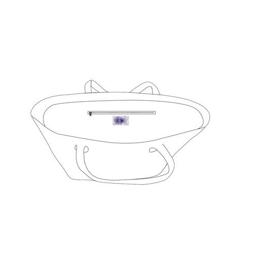 hamsa 3-2.s Private Brand Tag on Bags Inner (Zipper) (5cm X 3cm)