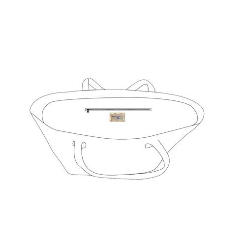 Meir Private Brand Tag on Bags Inner (Zipper) (5cm X 3cm)
